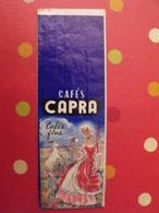 Sac En Papier Cafés Capra Cafés Fins. Vers 1950-60. - Publicité