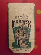 Sac En Papier Cafés Mokarex. Vers 1950-60. - Publicité