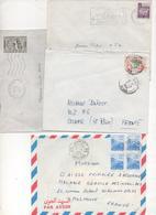 ALGERIE_4 Letters 1963-95 - Algérie (1962-...)