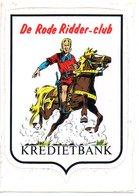 Autocollant Sticker De Rode Ridder Club Paard Horse Pferd Cheval Strip BD - Autocollants