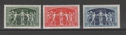 FRANCE / 1949 / Y&T N° 850/852 ** : UPU (3 TP) - Gomme D'origine Intacte - France