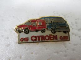 PIN'S    C 15  C 25  CITROEN - Citroën