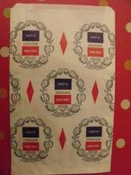 Grand Sac En Papier Cigarettes Française Grand Format. Carugati. Vers 1950-60. - Publicité