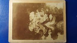 PHOTO RARE DE SCENE DE VIE  UN LAVOIR AVEC UN BEAU REFLET - Anciennes (Av. 1900)