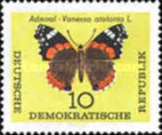 DDR - Butterflies - 1964 - [6] Democratic Republic