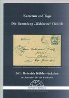 Kamerun Und Togo (Heinrich Köhler) - Catalogues For Auction Houses