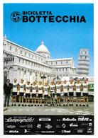 CARTE CYCLISME GROUPE TEAM MALVOR BOTTECCHIA 1983 FORMAT 17 X 24,5 - Radsport