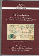 Mail To The Far East (Heinrich Köhler) - Catalogues De Maisons De Vente
