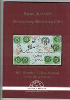 Bayern 1849 - 1875 (Heinrich Köhler) - Catalogues De Maisons De Vente