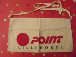 Sacs En Tissu. Publicité Point Lillebonne Genre Musette Tour De France Cycliste. Vers 1960 - Publicité