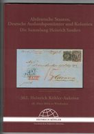 Altdeutsche Staaten, Deutsche Auslandpostämter Und Kolonien  (Heinrich Köhler) - Catalogues For Auction Houses