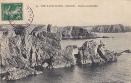 56. BELLE ILE EN MER. CPA. BANGOR. ROCHERS DE GAULPHAR. ANNÉE 1912. - Belle Ile En Mer