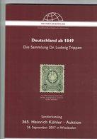 Deutschland Ab 1849 (Heinrich Köhler) - Catalogues De Maisons De Vente