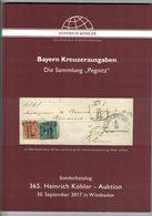 Bayern Kreuzerausgaben (Heinrich Köhler) - Catalogues De Maisons De Vente