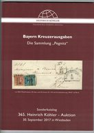 Bayern Kreuzerausgaben (Heinrich Köhler) - Auktionskataloge