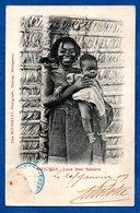 Majunga  -  Jeune Mère Sakalava - Madagascar