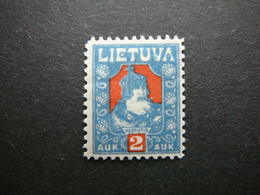 Lietuva Lithuania Litauen Lituanie Litouwen # 1921 MH # Mi.96 - Lituanie