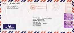 30813. Carta Aerea DJAKARTA (Indonesia) 1975. Franqueo Mecanico TALANG SEWU - Indonesia