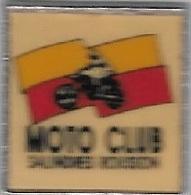 Pin's  Ville, Sport  MOTO  CLUB  SALINDRES  ROUSSON  ( 30 ) - Motorbikes