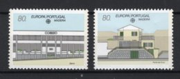 (B) Portugal - Madeira CEPT 133/134 MNH** - 1990 - 1990