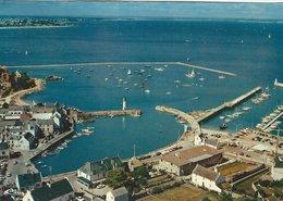 France - Quiberon (Morbihan). Vue Aerienne - Port Haliguen. Sent To England 1974.  B-3376 - Quiberon