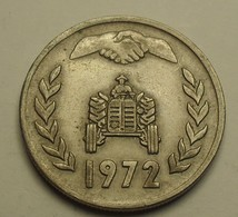 1972 - Algérie - Algeria- 1 DINAR, FAO, Réforme Agraire, KM 104.1 - Algérie
