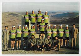 CARTE CYCLISME GROUPE TEAM NOVOSTIL - HELIOS 1979 FORMAT 16,5 X 24,5 - Cyclisme