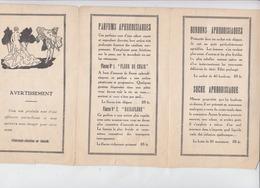 Ancienne Publicité Preservatifs Et Stimulants Sexuels (LOT AE 23) - Publicités