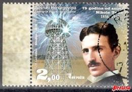 Bosnia Sarajevo - Nikola Tesla 2018 Used - Bosnie-Herzegovine