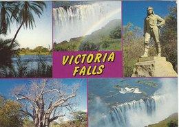 Zinbabwe River - Victoria Falls. Zimbabwe. Sent To Denmark    B-3379 - Zimbabwe