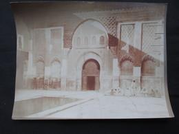 PHOTO MAROC (V1822) MARRAKECH (2 Vues) Photo Félix Fournitures Vues Du Pays A Palais Année 20 - Afrique