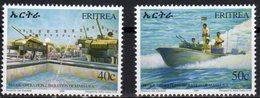 ERITREA, 2004, MNH, MILITARY, OPERATION OF MASSAWA, TANKS, BOATS, 2v - Histoire