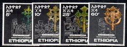 ETP151 - ETIOPIA 1969 ,  Yvert  N. 549/552   *** MNH  CROCI - Ethiopia