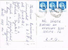 30816. Postal BARAOLT (Rumania) 1987. Ambulant Tranzit S. GHEORGHE - 1948-.... Repúblicas