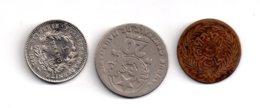 Un Lot De 3 Pièces-voir état - Monnaies & Billets