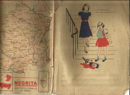Couverture Cahier Publicité  Alcool Négrita - Alimentaire