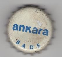 TURKEY BIER CAP KRONKORKEN ANKARA GAZOZU , CROWN CAP KRONKORKEN CAPSULE TAPPI CHAPA !!!!! - Beer