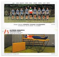 CARTE CYCLISME GROUPE TEAM BONARIVA - COLNAGO 1978 FORMAT 10 X 21 - Radsport