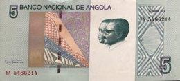 Angola 5 Kwanzas, P-151A (2012) - UNC - Angola