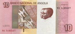 Angola 10 Kwanzas, P-151B (2012) - UNC - Angola