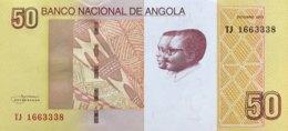 Angola 50 Kwanzas, P-152 (2012) - UNC - Angola