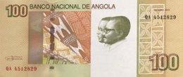 Angola 100 Kwanzas, P-153 (2012) - UNC - Angola