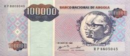 Angola 100.000 Kwanzas Reajustados, P-139 (1995) - UNC - Angola