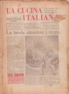 °°° La Cucina Italiana Roma 1936 Settembre N,9 A. 8  °°° - Casa, Jardinería, Cocina