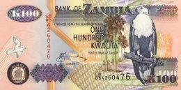Zambia 100 Kwacha, P-38d (2003) - UNC - Signature 12 - Zambie