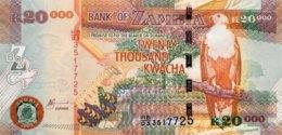 Zambia 20.000 Kwacha, P-47a (2003) - UNC - Signature 12 - Zambie