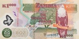 Zambia 1.000 Kwacha, P-44c (2004) - UNC - Signature 12 - Zambie