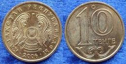 KAZAKHSTAN - 10 Tenge 2006 KM# 25 Independent Since 1991 - Edelweiss Coins - Kazakhstan