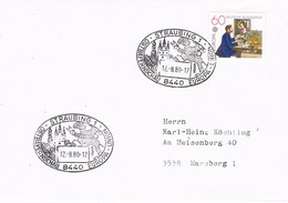 30819. Carta STRAUBING (Alemania Federal) 1980. Ostbayernschau Europa - [7] República Federal