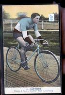 CYCLISTE ALAVOINE     JLM - Cyclisme
